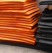橙色eva板材